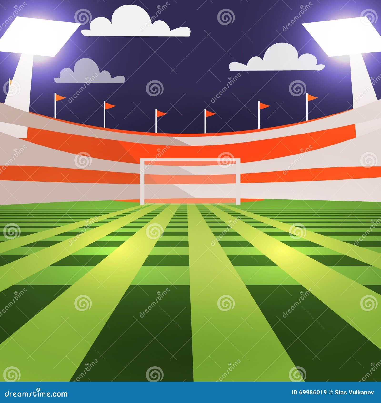 Stadium Lights Svg: Bleachers Cartoons, Illustrations & Vector Stock Images