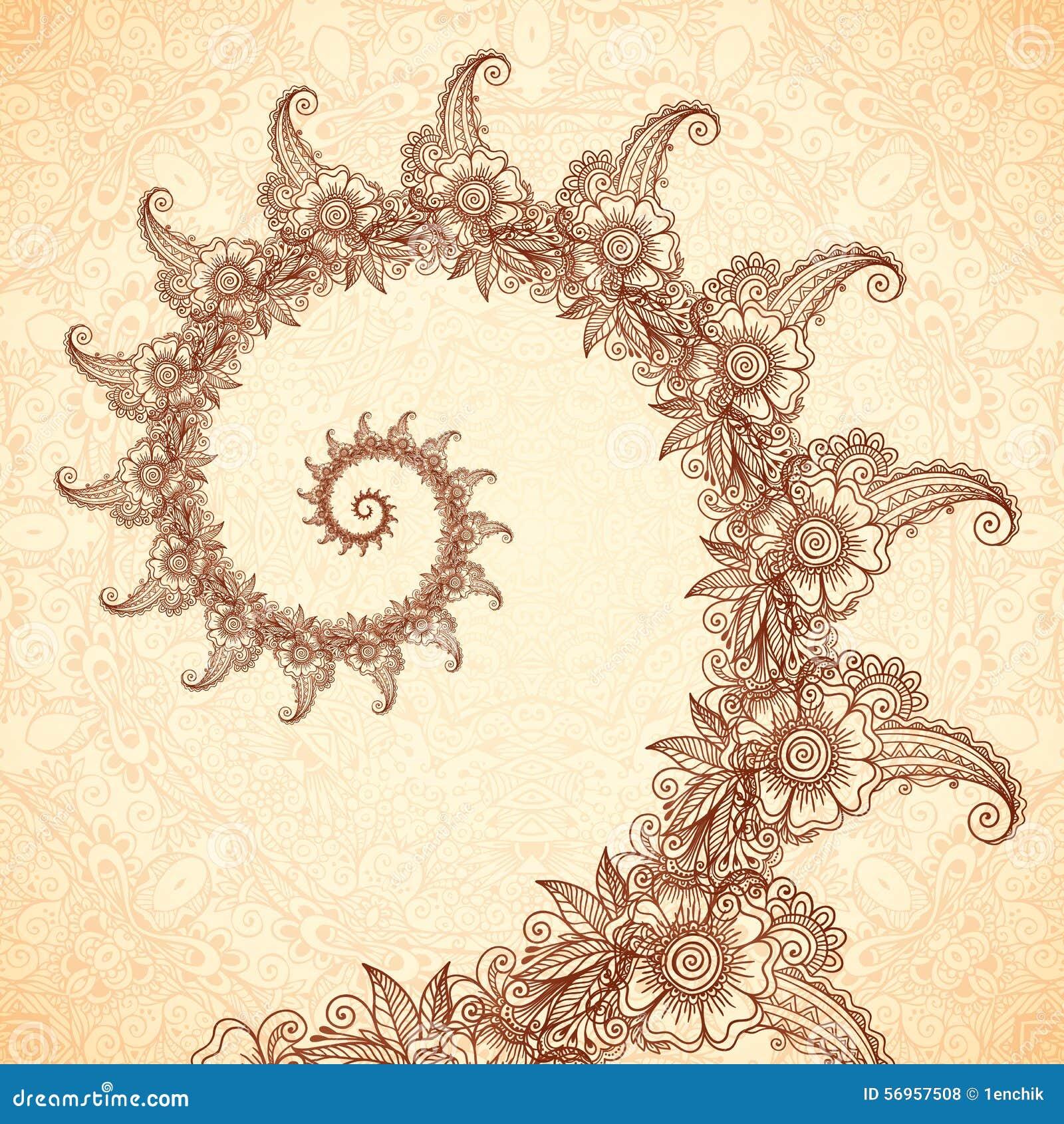 Vector Fractal Spiral ...