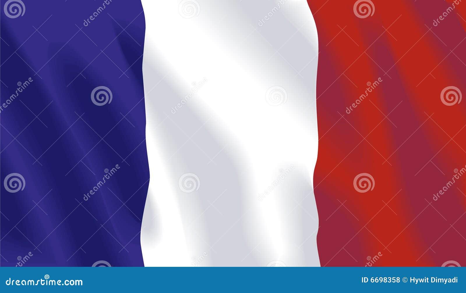 Vector Franse Vlag