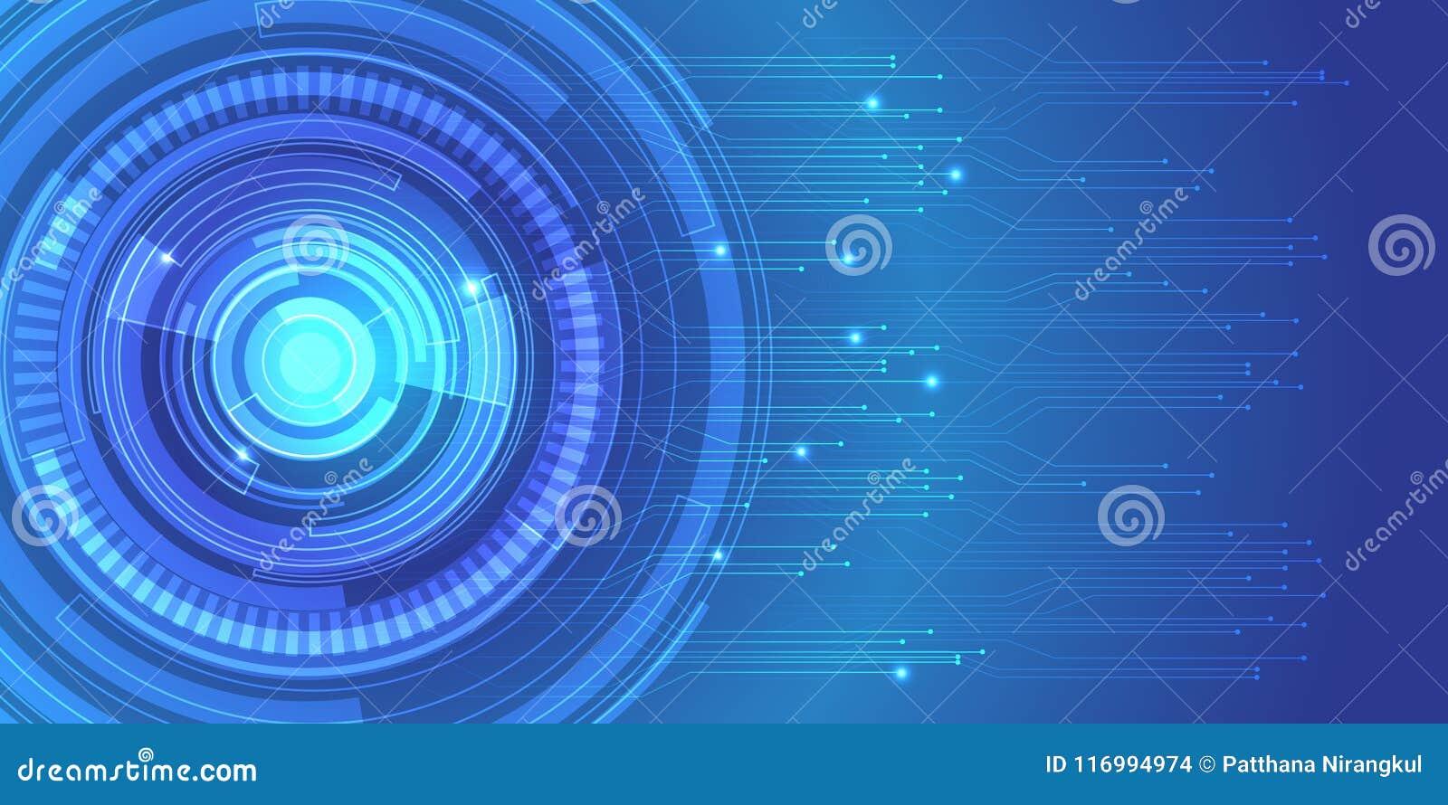 Fondo Azul Metálico Abstracto De Diseño Moderno De La: Vector Futurista Moderno Azul Del Fondo Del Diseño De Red