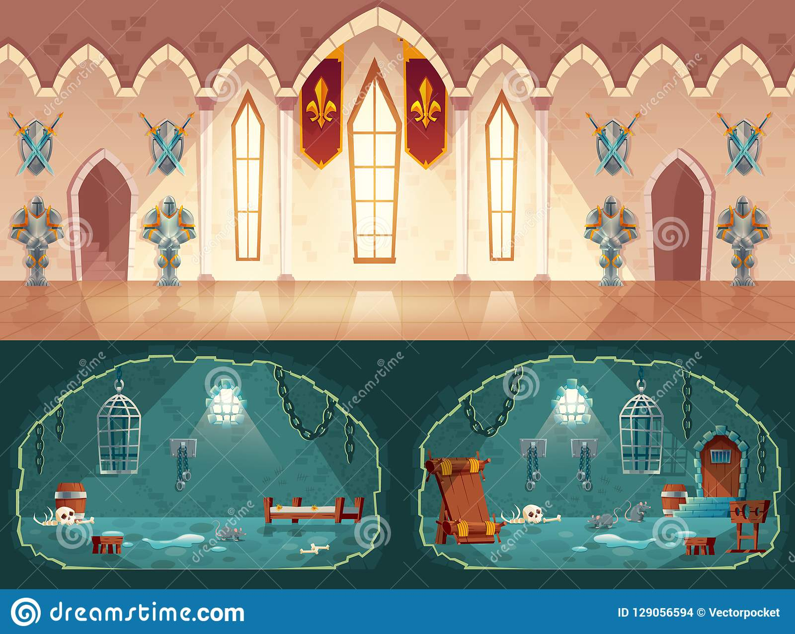 ef7d7f0f Castle Cell Stock Illustrations – 124 Castle Cell Stock Illustrations,  Vectors & Clipart - Dreamstime