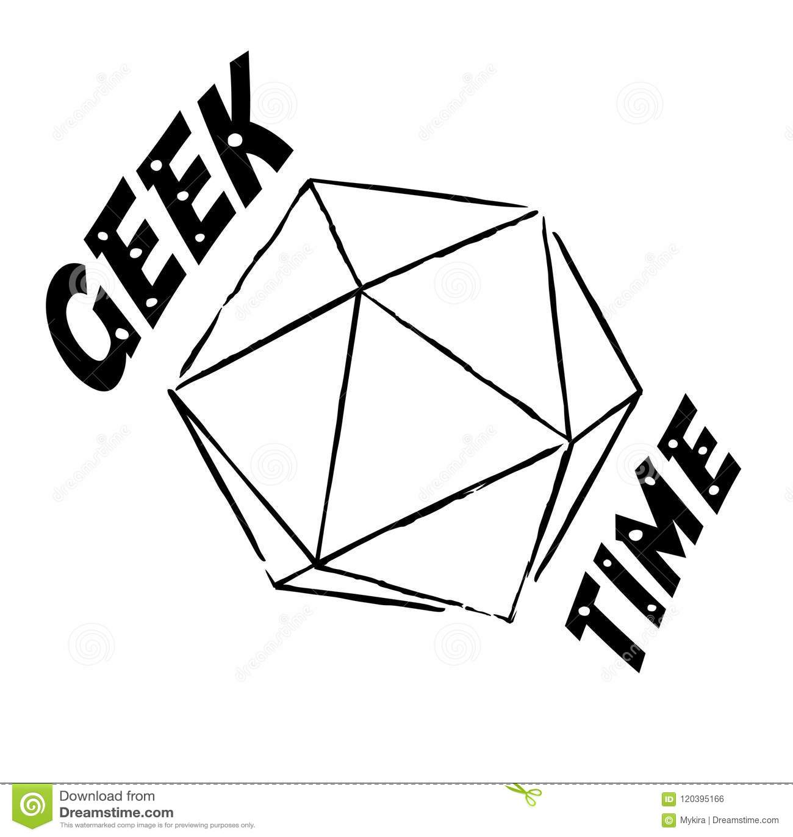 Download Vector Geek Time Illustration Stock Vector - Illustration of cartoon, science: 120395166