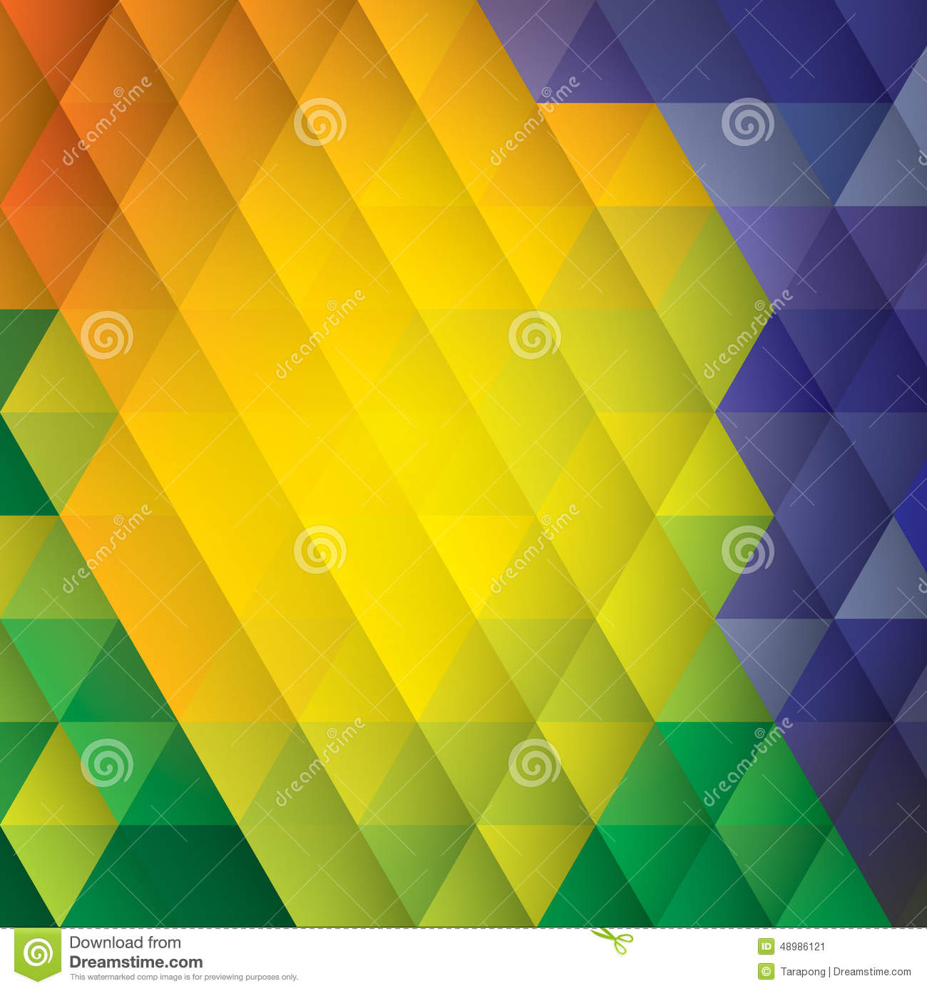 Book Cover Background Color : Vector geometric background in brazil flag concept cartoon