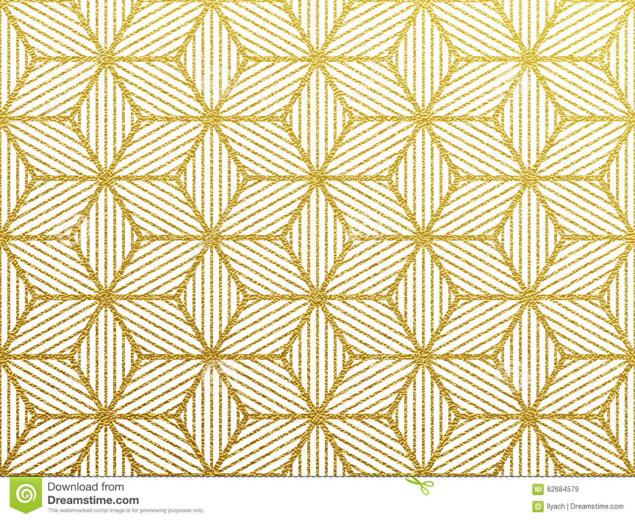 vector geometric gold pattern stock vector image 62684579