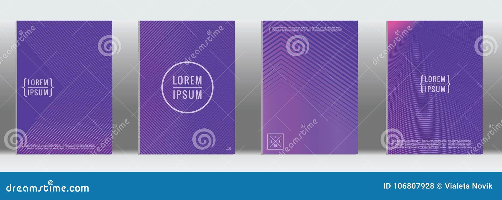 Vector geometric line pattern for poster design.