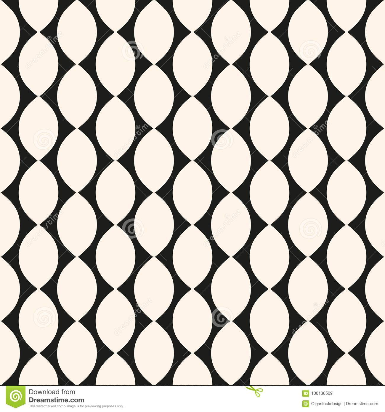 vector geometric seamless pattern with ovate shapes curved line rh dreamstime com free vector geometric pattern download vector geometric pattern free