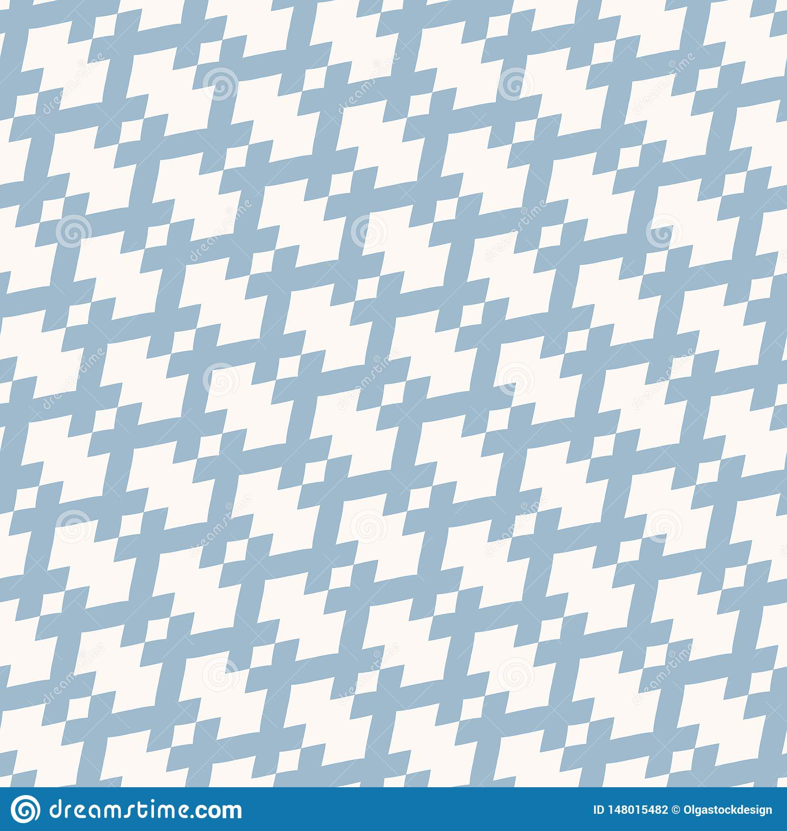 Vector geometric seamless pattern in traditional ethnic style. Tribal folk motif