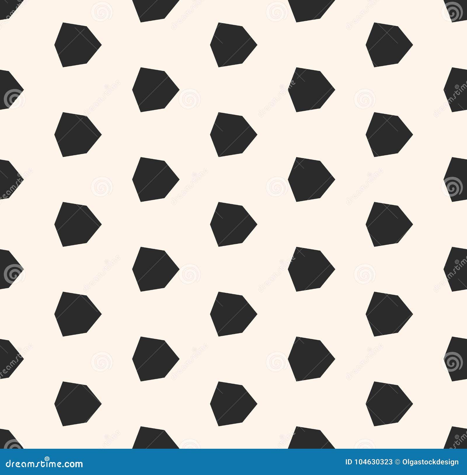 Download Vector Geometrisch Naadloos Patroon Met Diamantvormen, Zeshoeken Vector Illustratie - Illustratie bestaande uit diamant, mozaïek: 104630323