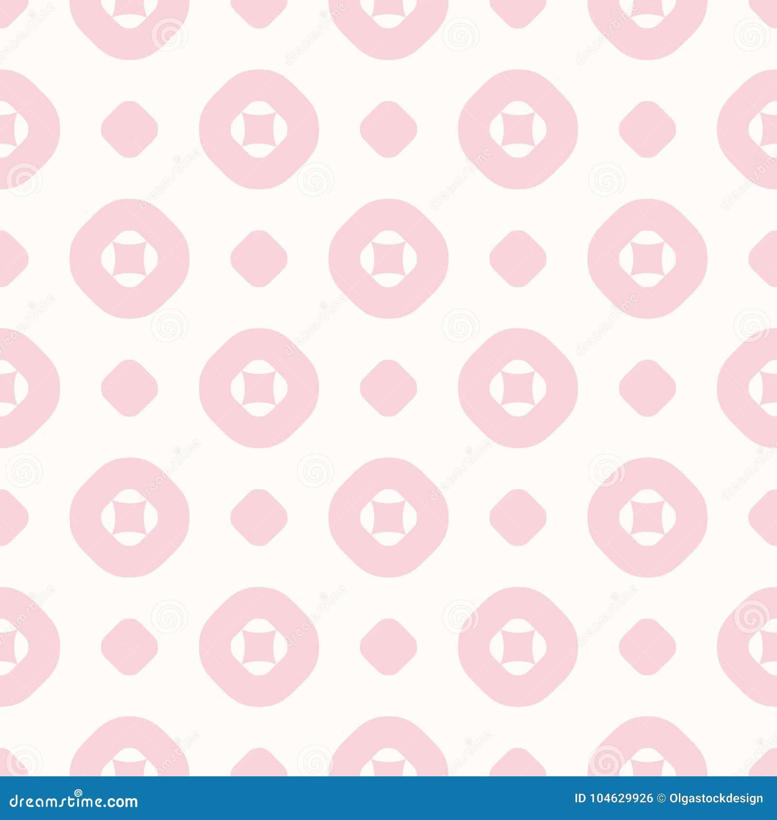 Download Vector Geometrisch Naadloos Patroon In In Pastelkleuren, Wit Roze, Vector Illustratie - Illustratie bestaande uit minimalism, punten: 104629926