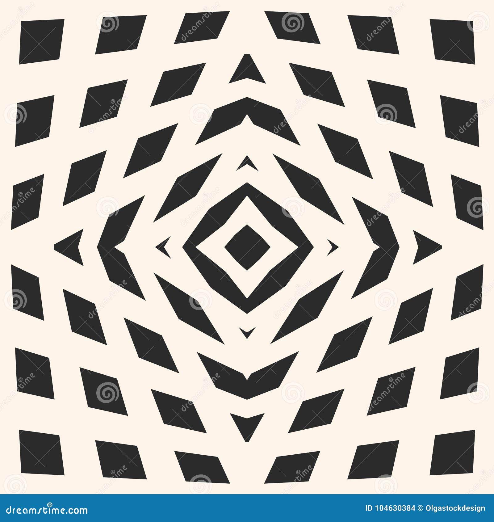Download Vector Geometrische Geruite Textuur Naadloos Patroon Met Kubiek Vector Illustratie - Illustratie bestaande uit meubilair, dekking: 104630384