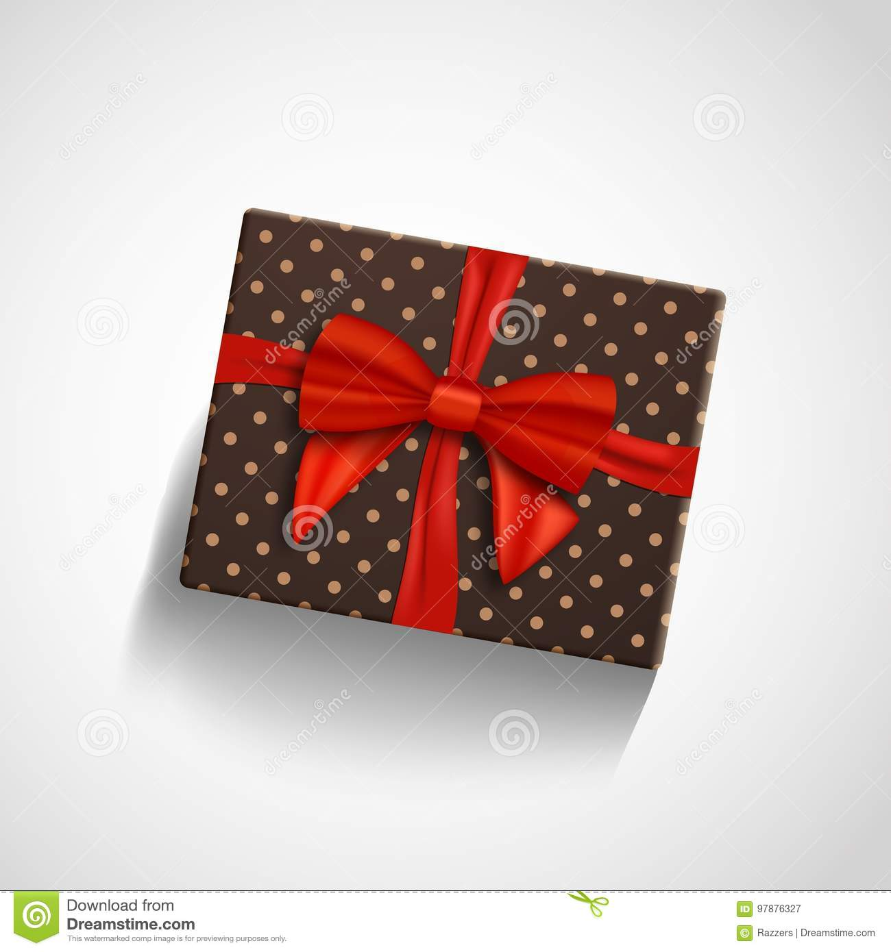 Gift Card in a Plaid Gift Box Various Card Designs