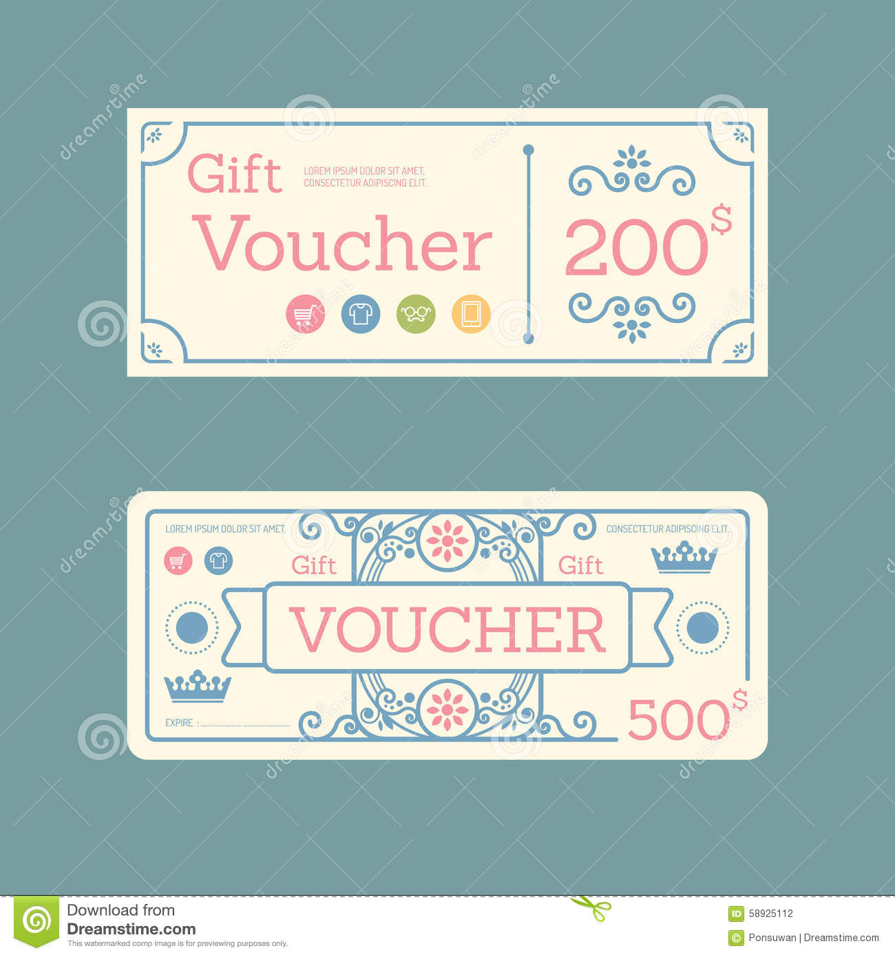 Label coupons