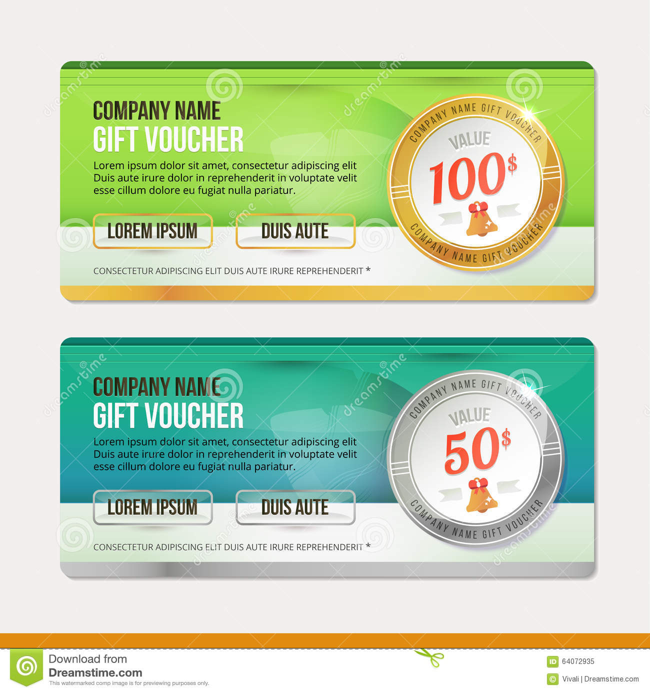 Doc400192 Money Voucher Template Money Coupon Template Blue – Money Coupon Template