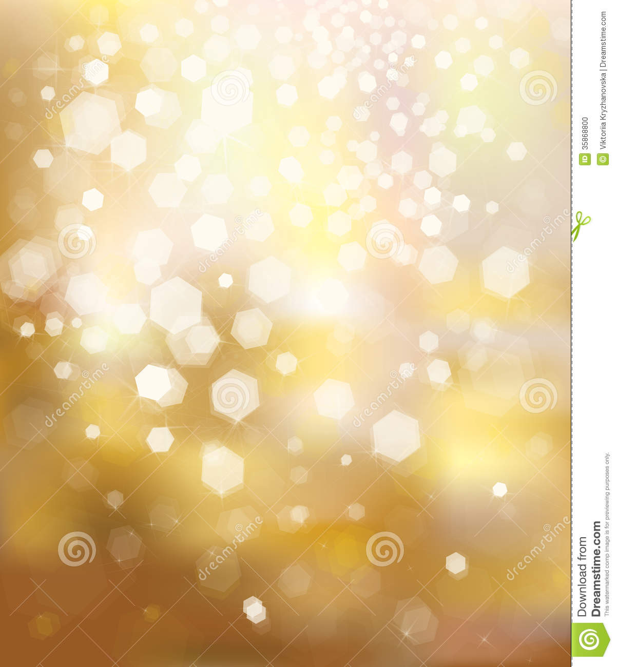 Gold glitter bright vector transparent background golden sparkles - Vector Glitter Golden Background
