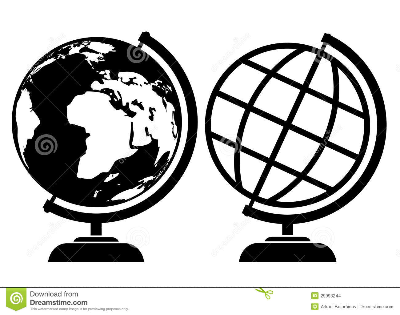globe icon stock vector illustration of global object