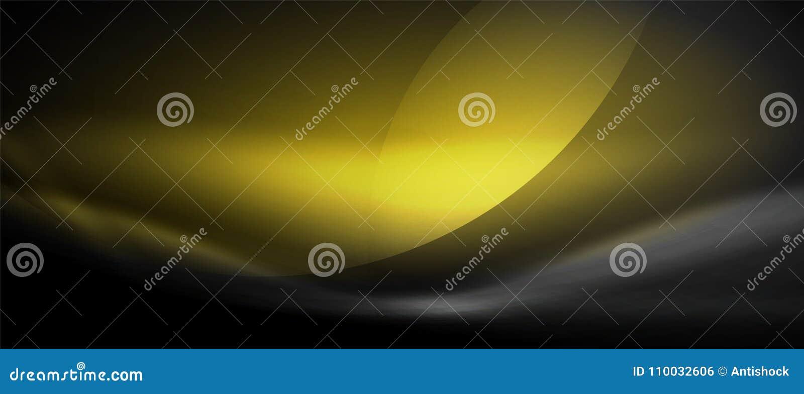 Vector gloeiende stromende de krommeachtergrond van het golfneon