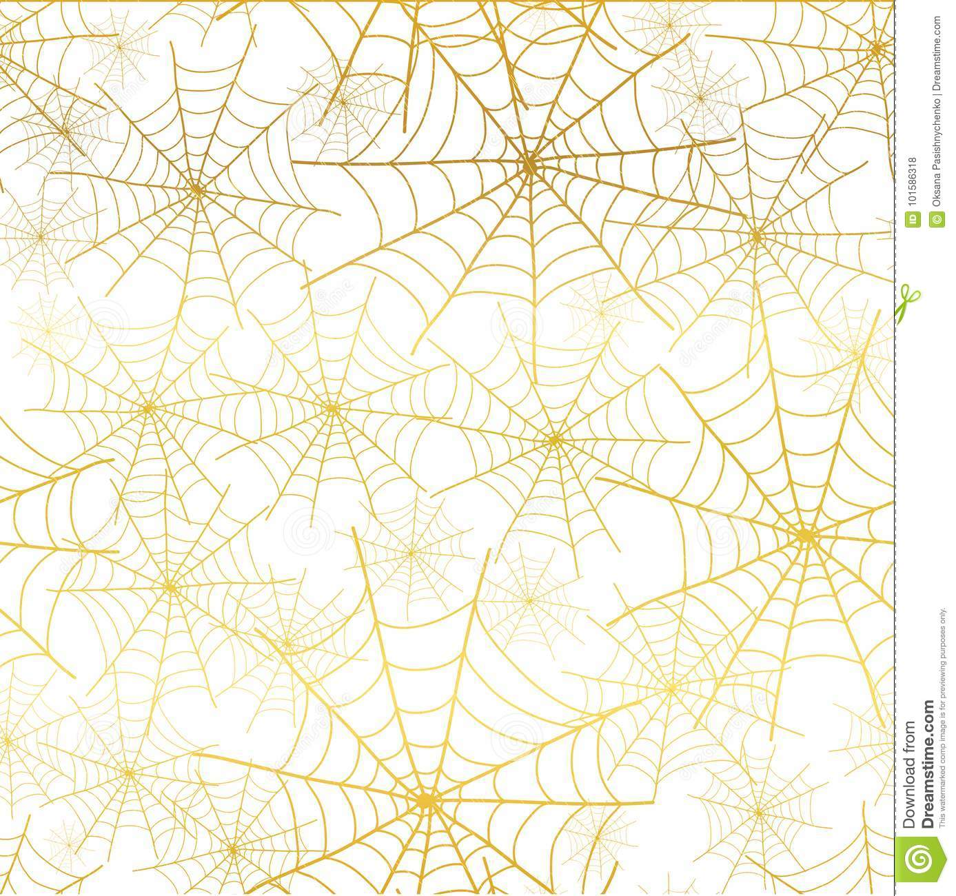 Top Wallpaper Halloween Gold - vector-gold-white-spiderweb-halloween-seamless-repeat-pattern-background-great-spooky-fabric-wallpaper-giftwrap-packaging-101586318  Snapshot_956387.jpg