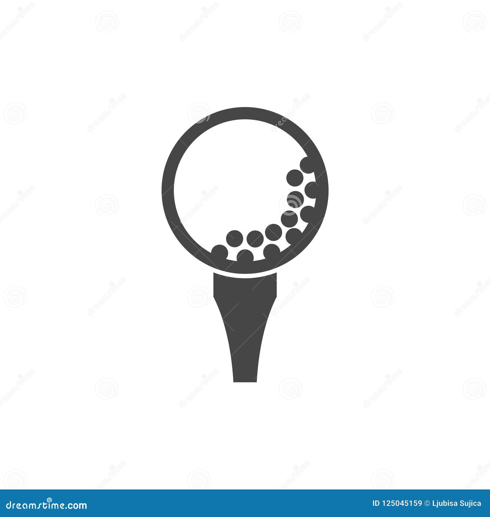 Free Vector Golf Ball Vector