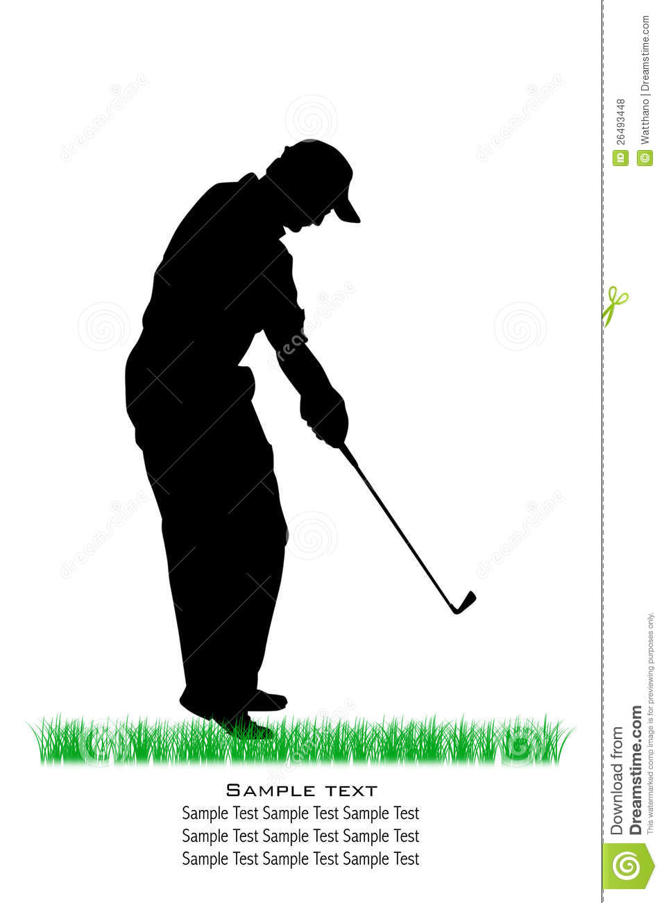 HD wallpapers golf silhouette vector
