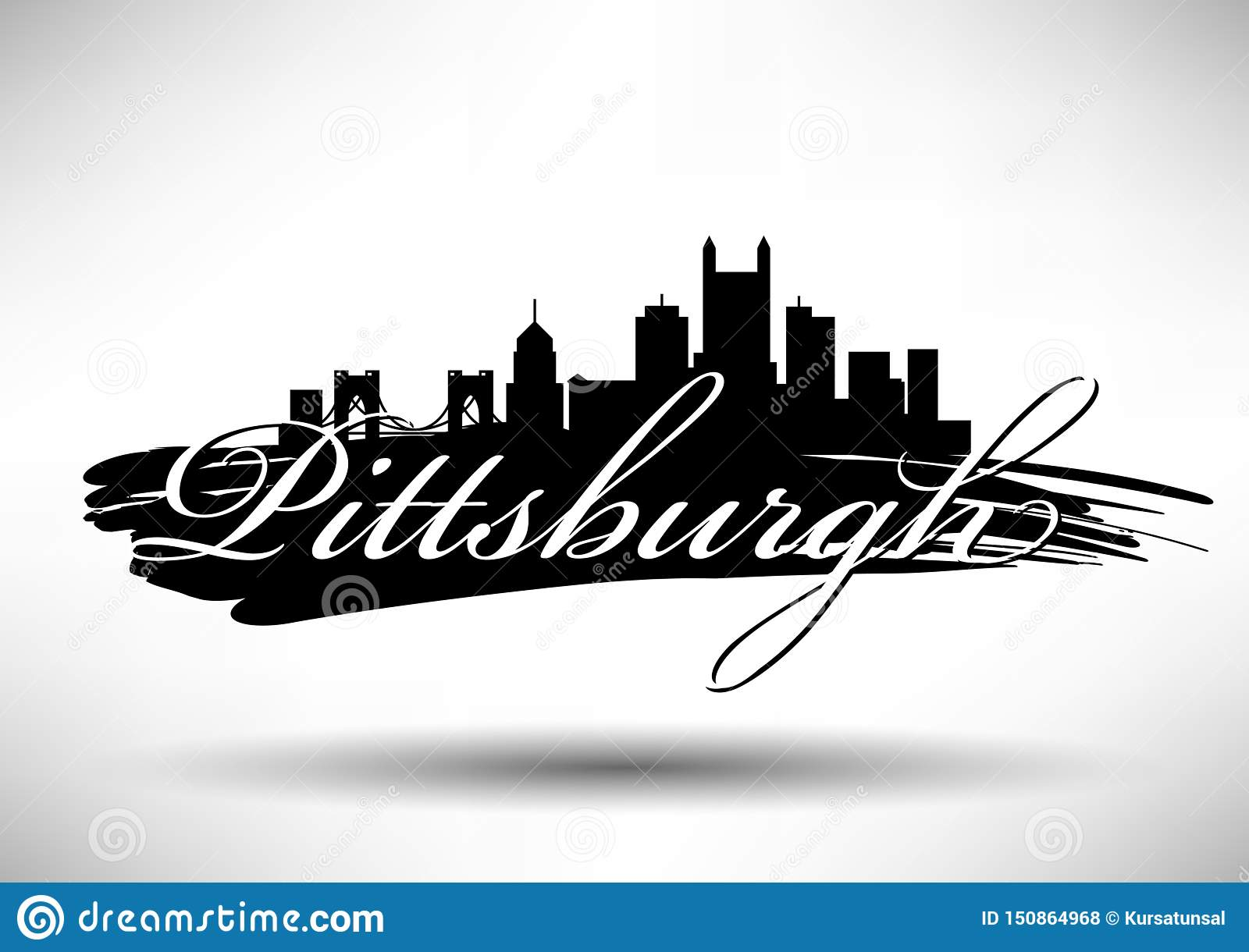 Vector Graphic Design Of Pittsburgh City Skyline Stock Vector Illustration Of Design Banner 150864968,Simple Blouse Designs Front And Back Images