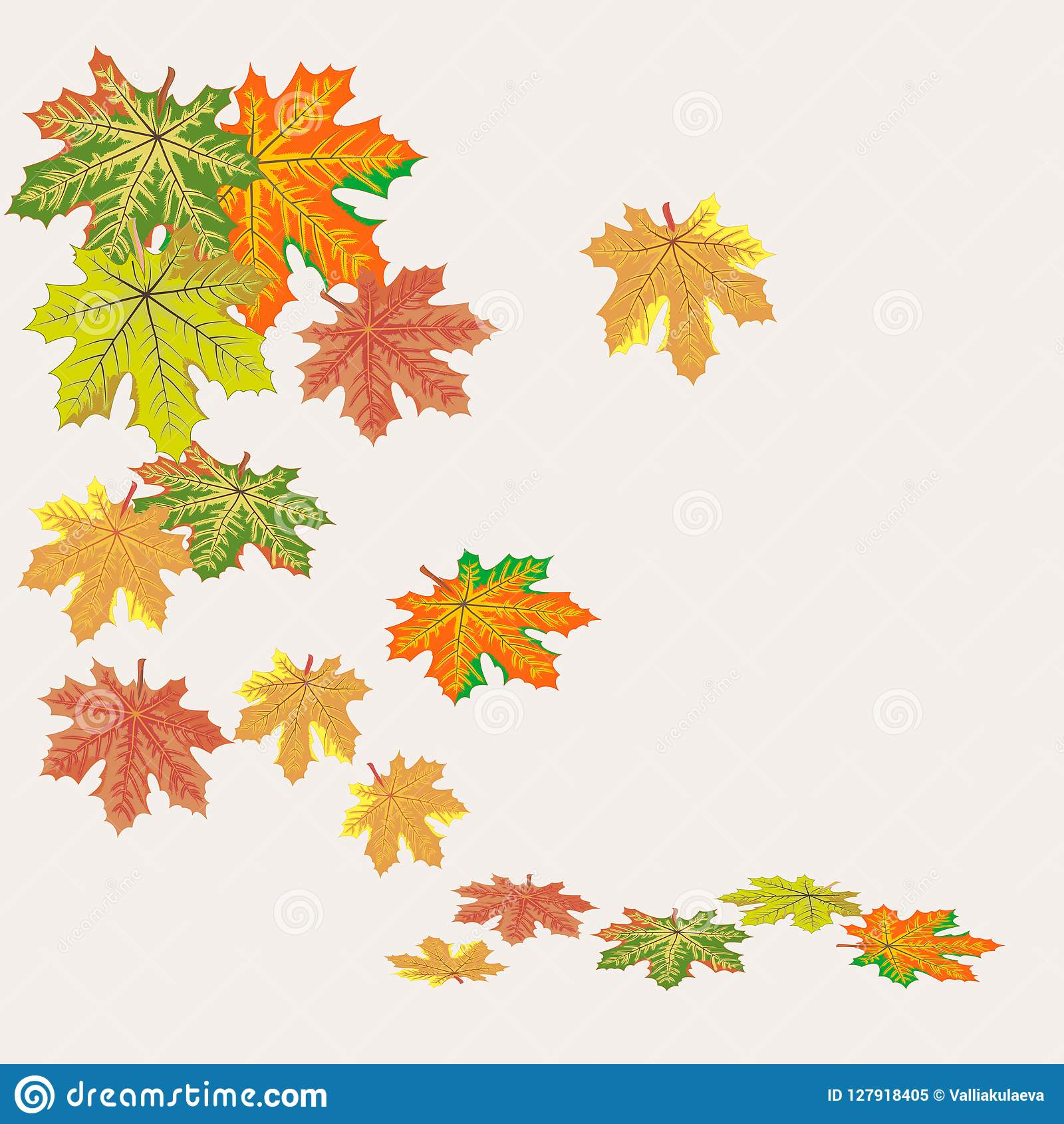 Vector Graphics Clipart Leaf Fall Stock Vector Illustration Of Maple Juice 127918405