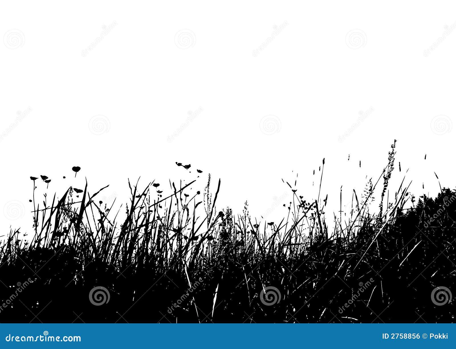 Grass Outline Vector Vector grass