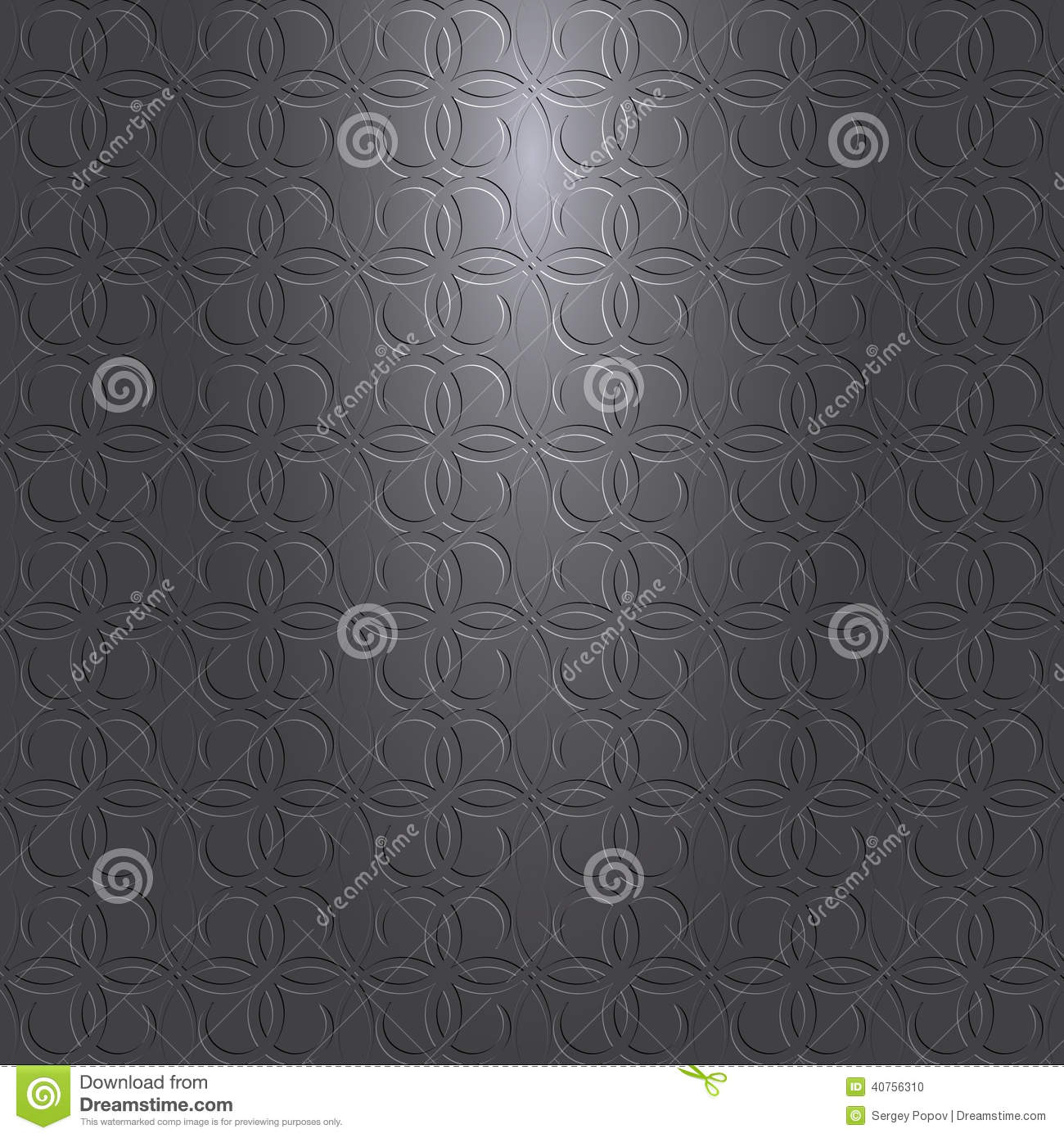 Vector Gray Black Background With Pattern And Light