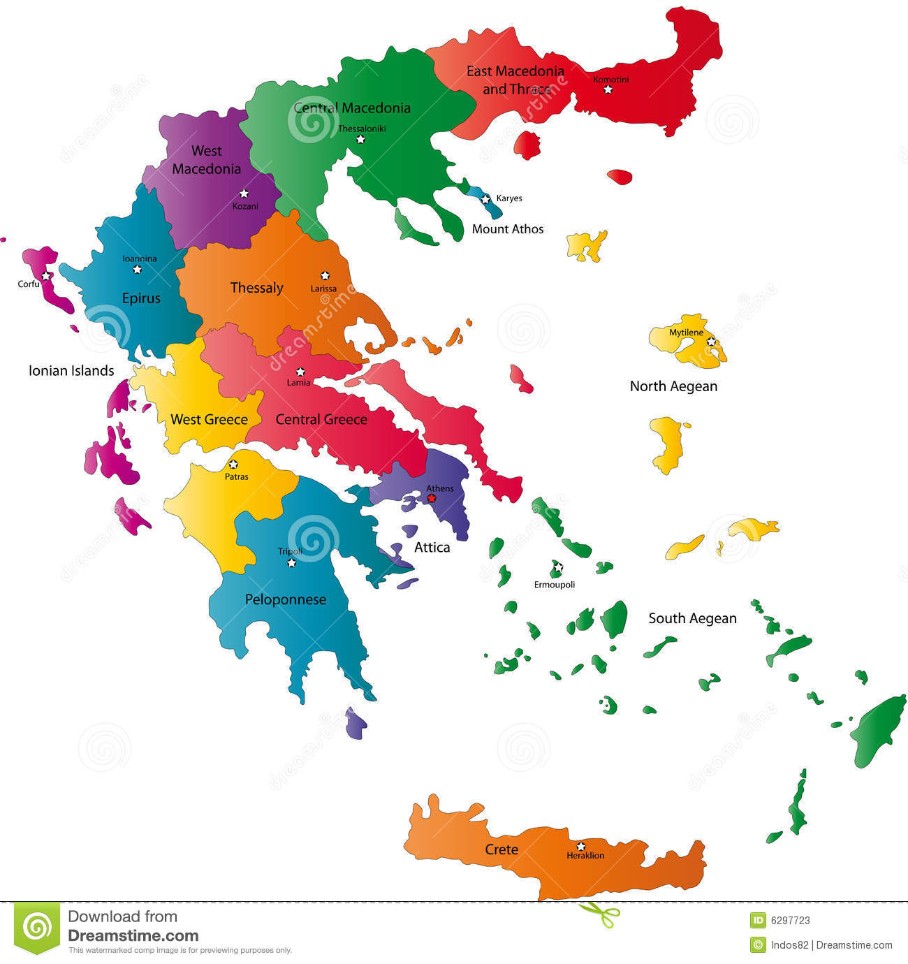 greece map vector - 28 images - map of greece single color vector ai ...