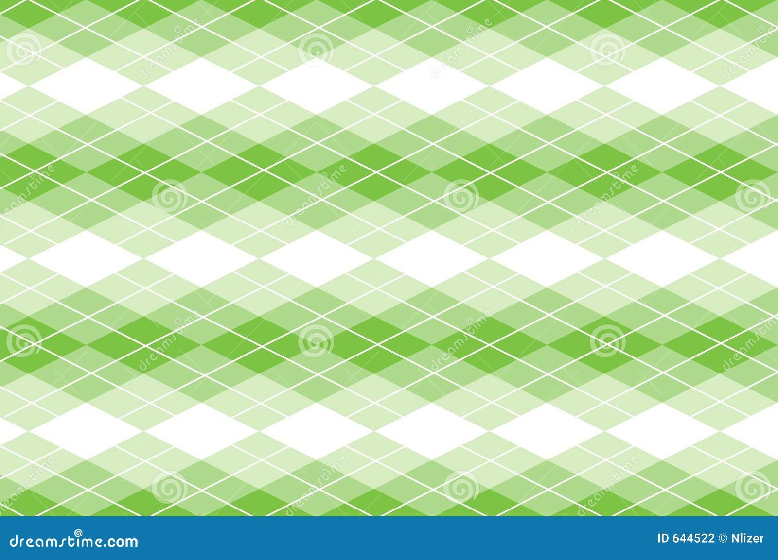 Vector Green Argyle Stock Vector. Image Of Design, Concept
