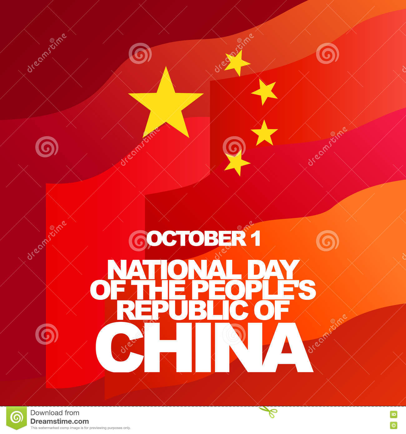 China National Day Design Cartoon Vector | CartoonDealer ...