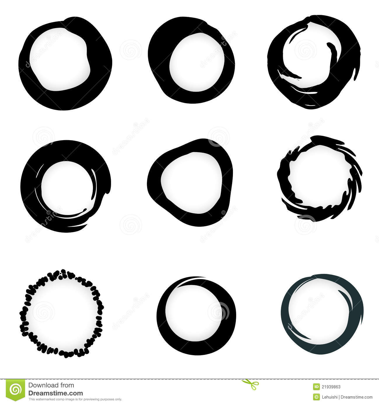 Circle Vector Clipart