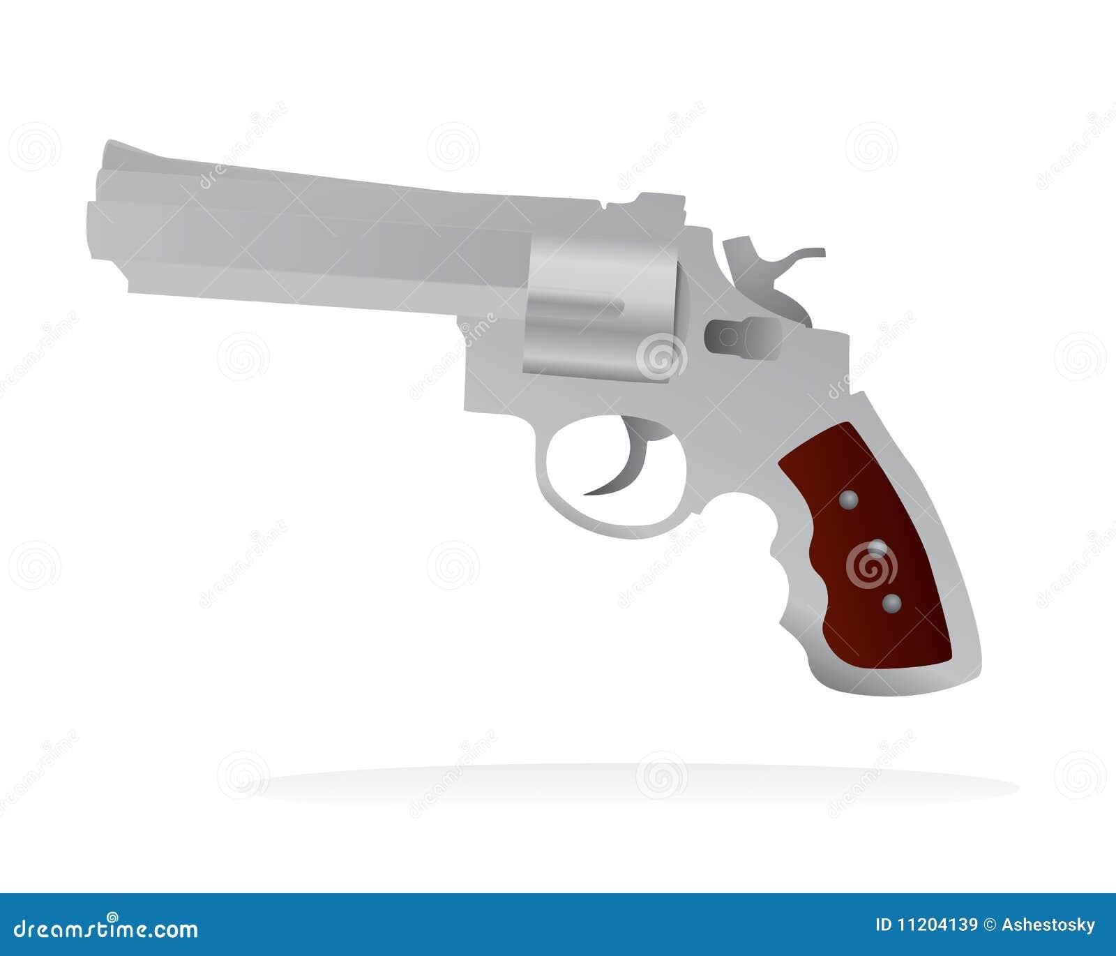 Vector gun isolated