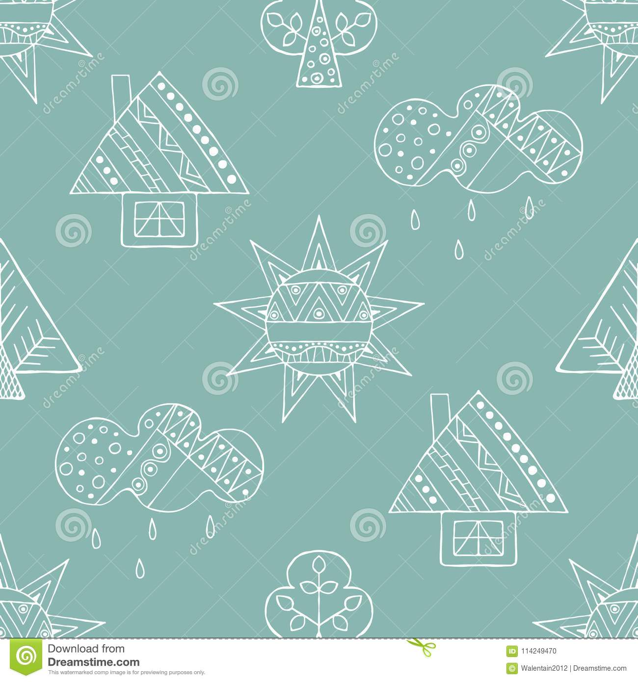 Drawing Lines With Core Graphics : Childish cartoons illustrations vector stock images