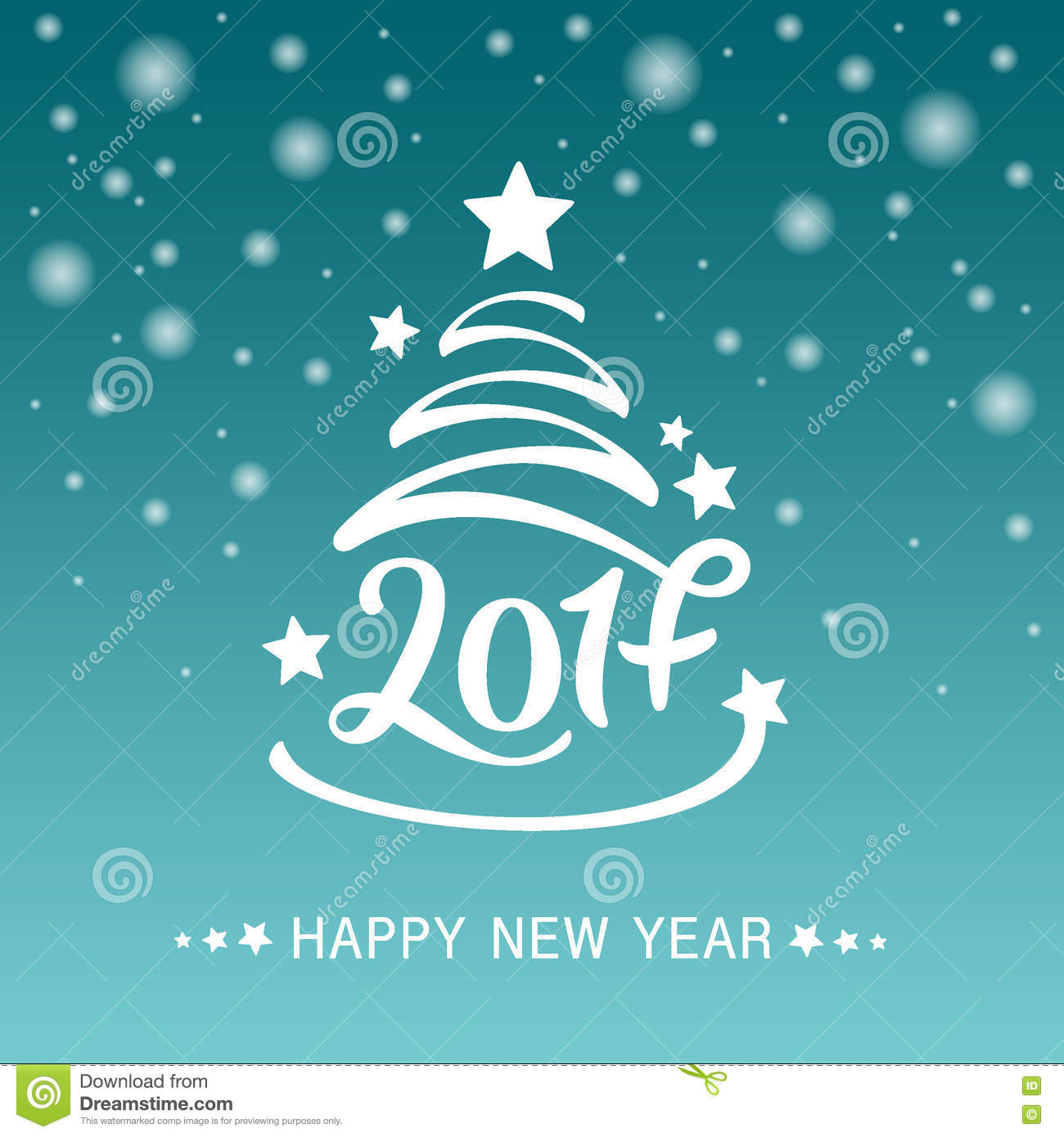 Vector Christmas Or New Year Greeting Card Template Vector – New Year Greeting Card Template