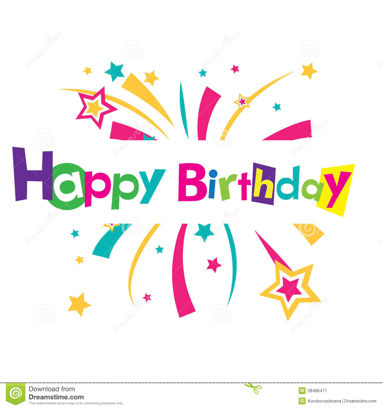 Happy Birthday Card Free gangcraftnet – Vector Birthday Card
