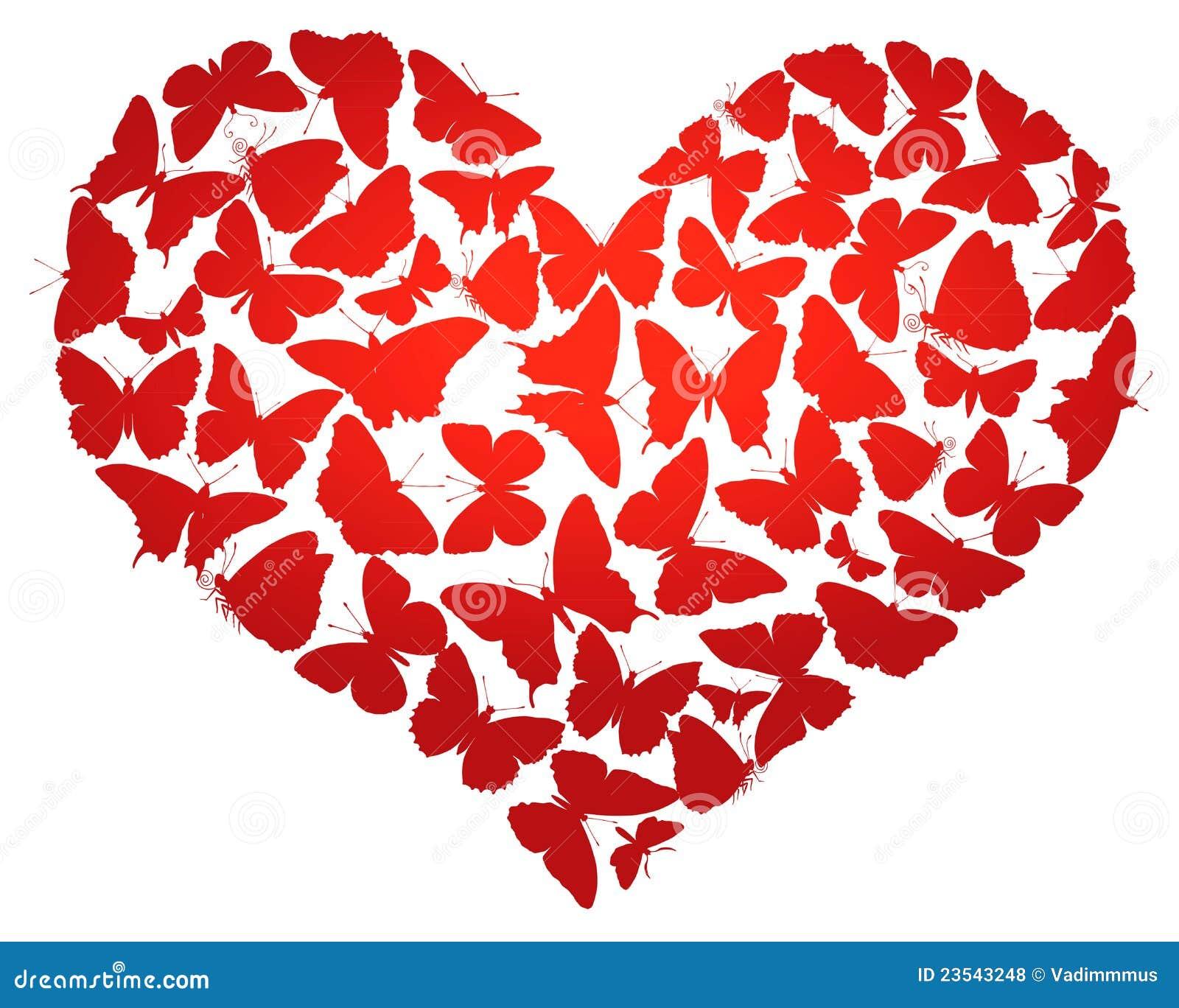 Vector hart vector illustratie illustratie bestaande uit for Clipart cuore