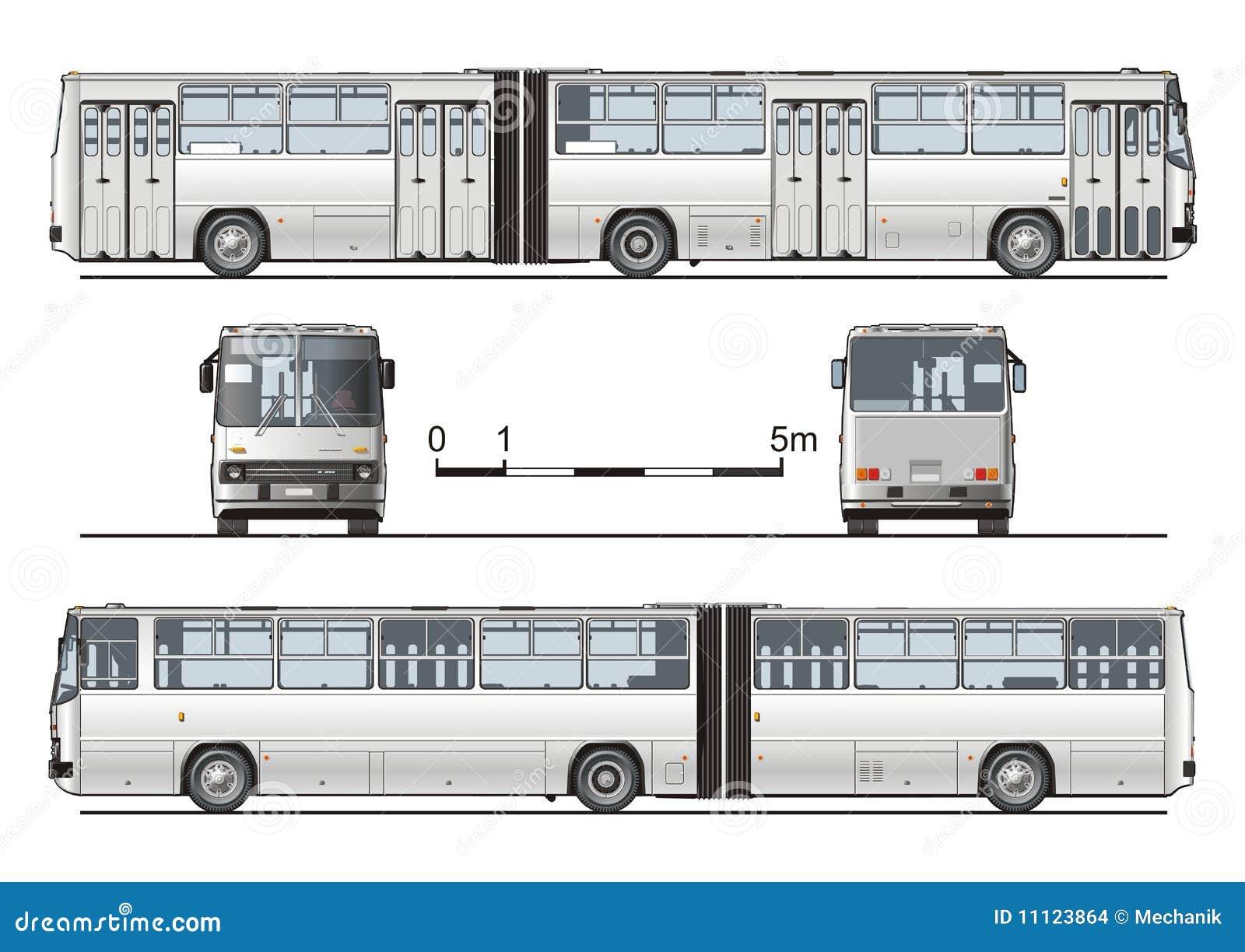 Графические схемы автобусов всех