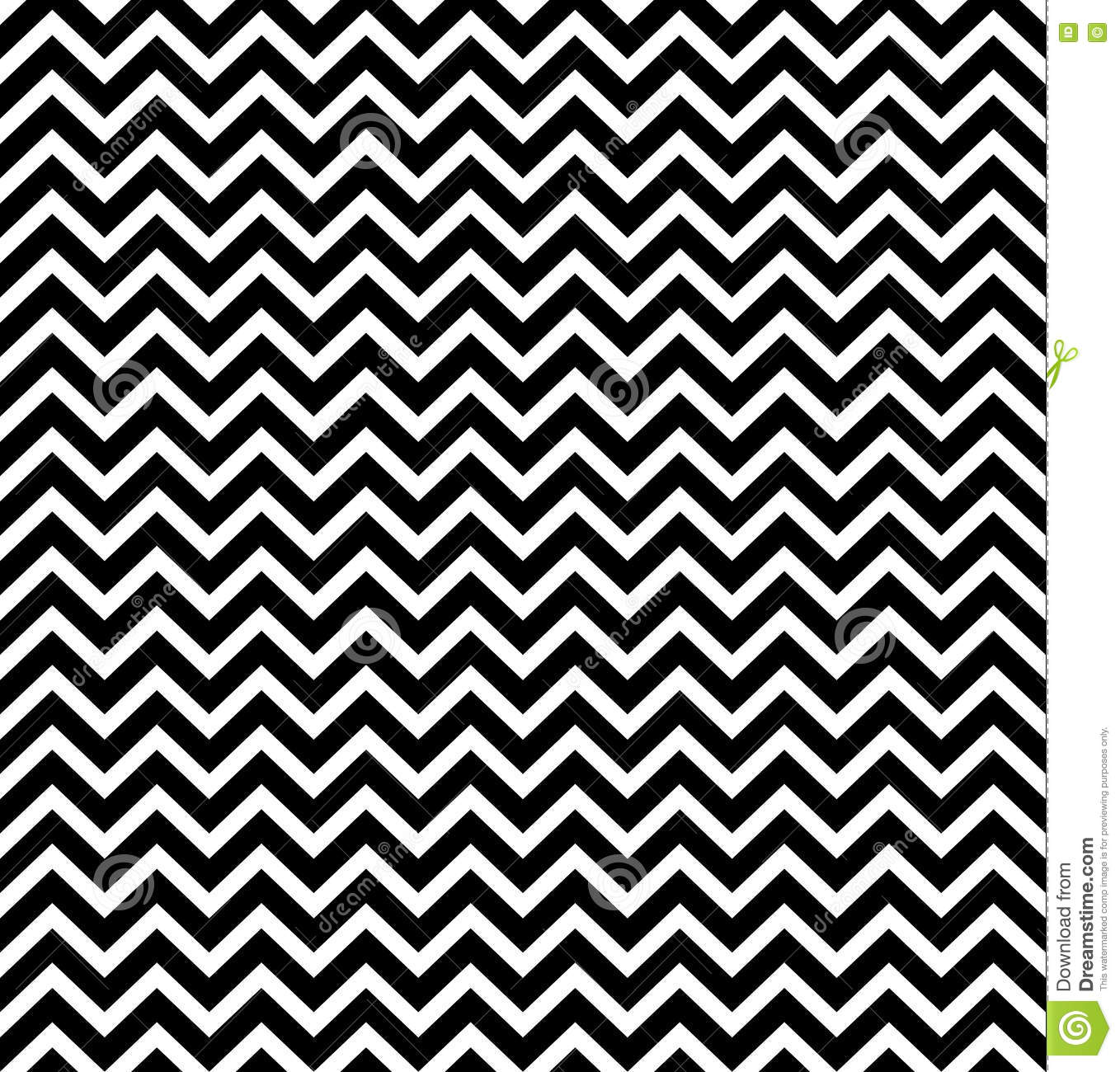 Vector Hipster Abstract Geometry Chevron Pattern Black And
