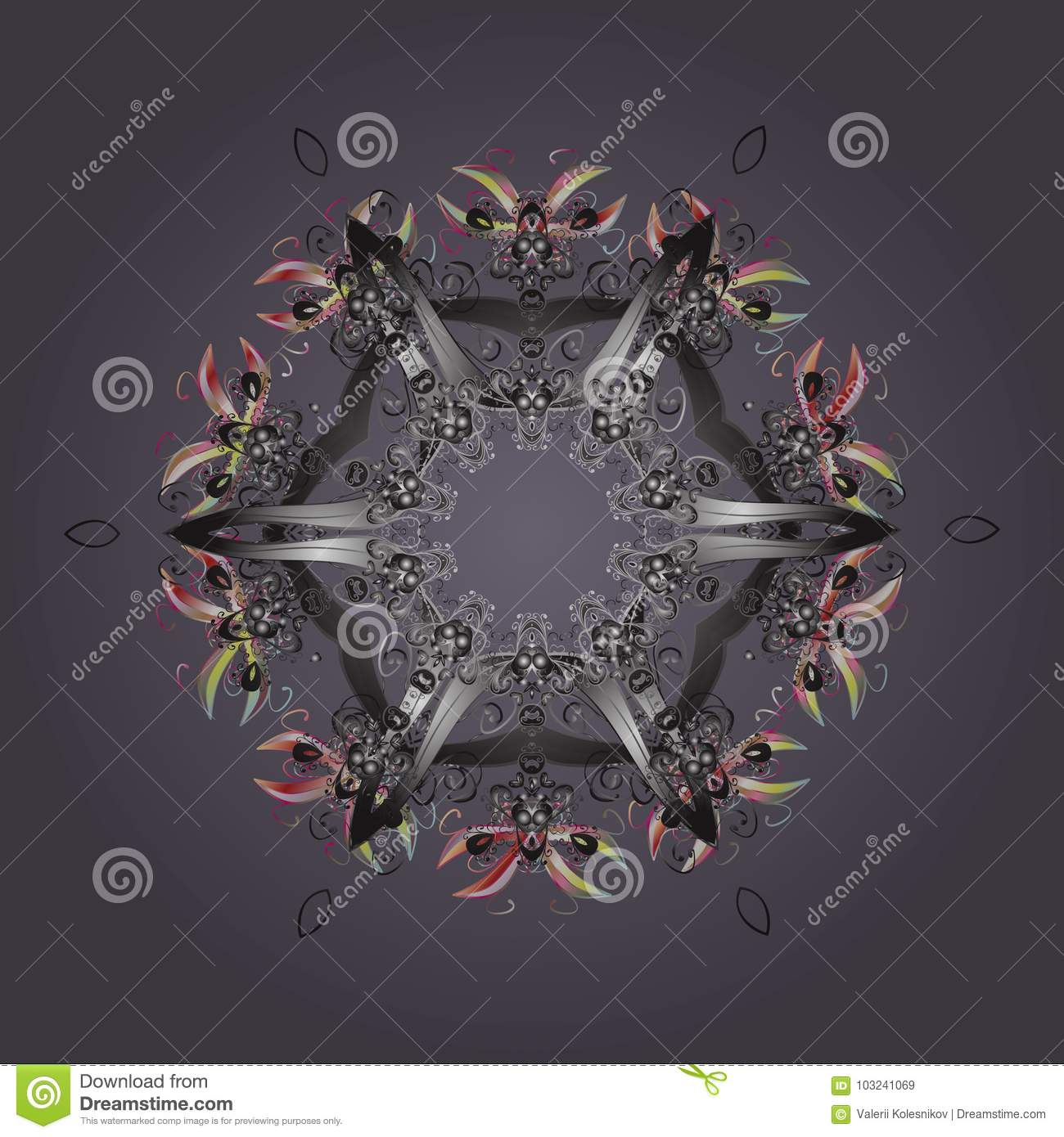 holiday design for christmas and new year fashion prints neutral gray and pink snowflakes vector christmas background with snowflakes abstract