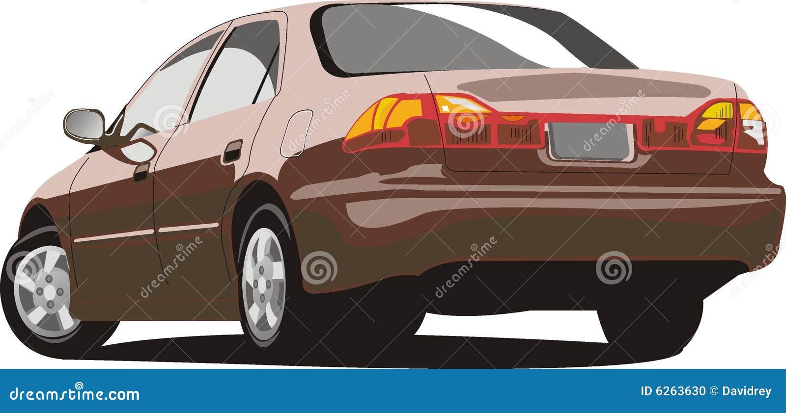 Vector Honda Accord Stock Illustration  Illustration Of
