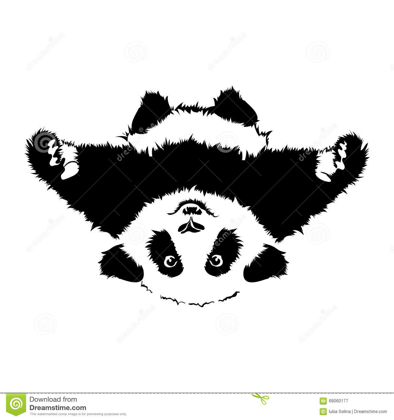 Vector Hug Panda 2 Stock Illustration Illustration Of Cheerful