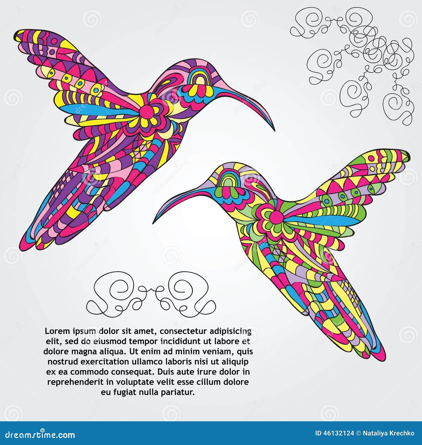 Habitat on web habitat technology group - Vector Hummingbird Stock Vector Image 46132124