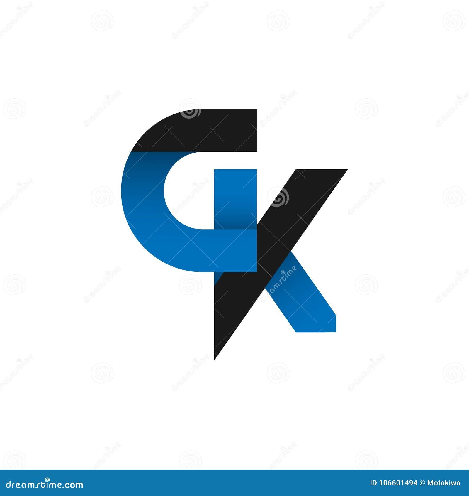 abstract letter gk logo design idea stock illustration rh dreamstime com gk logistics tracking gk logistics