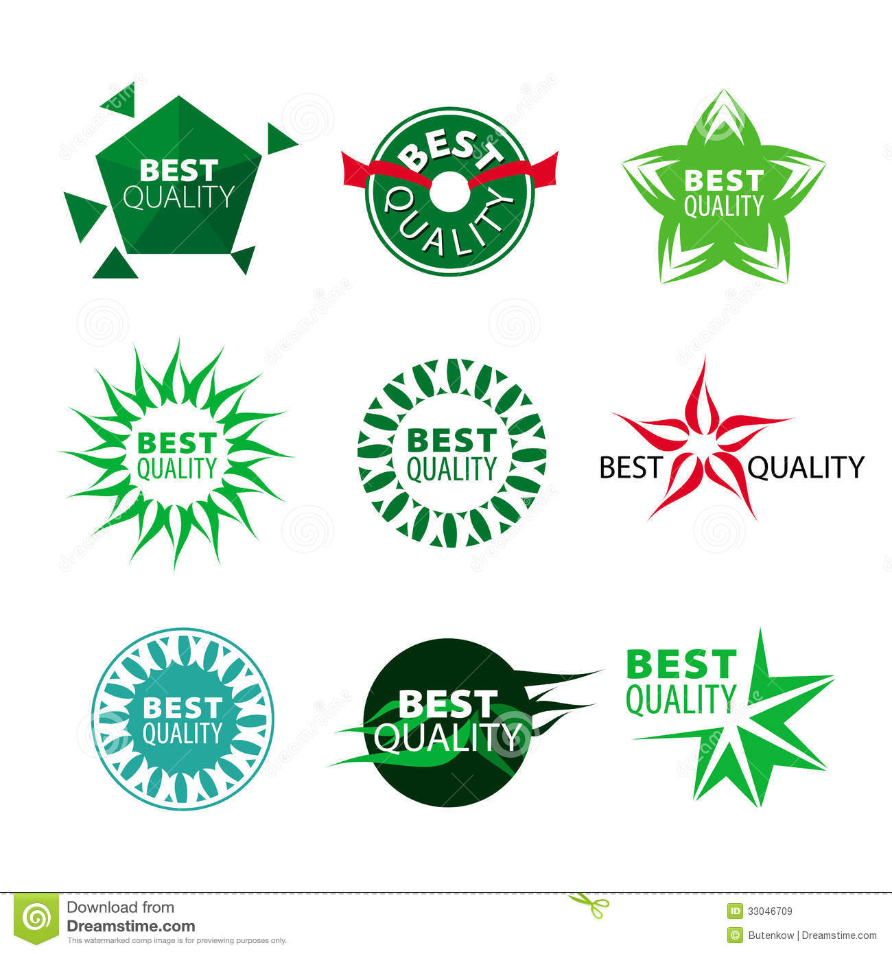 Vector Icons Best Quality Royalty Free Stock Images - Image: 33046709