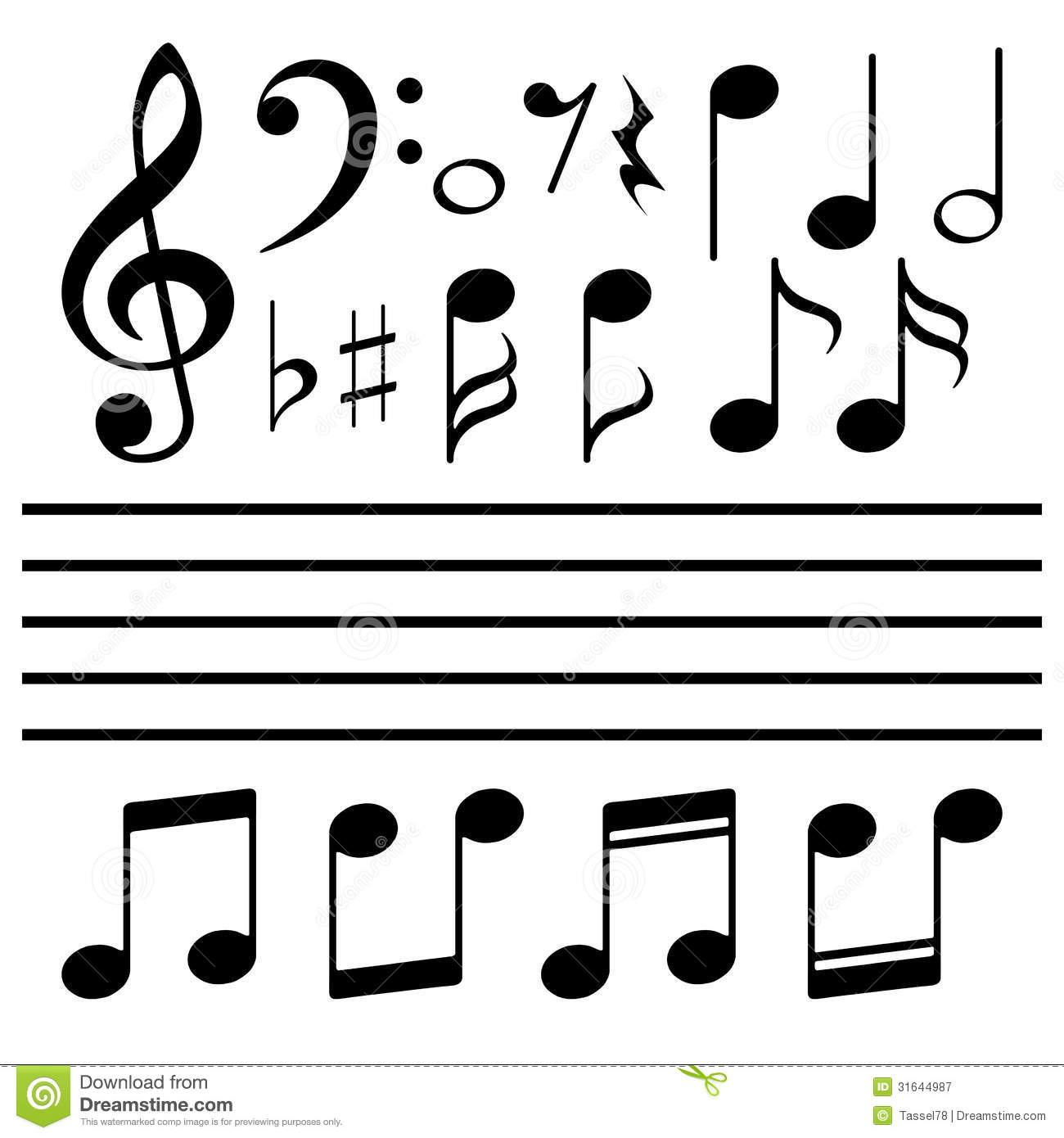 free vector music notes hospi noiseworks co rh hospi noiseworks co vector music note icon vector music notation