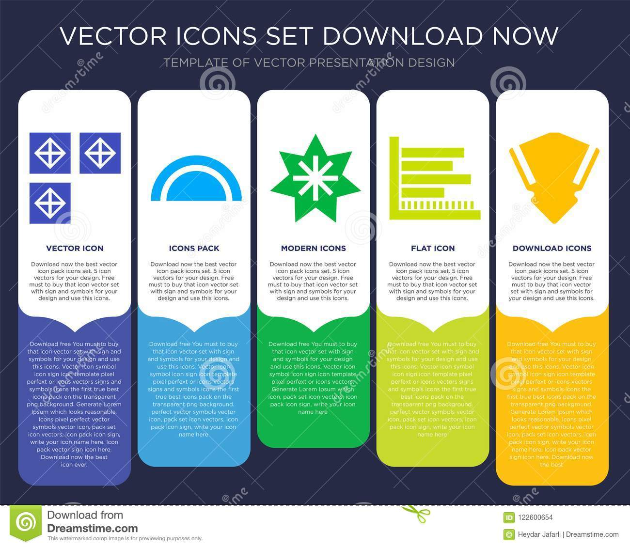 squares infographics design icon vector stock vector illustration