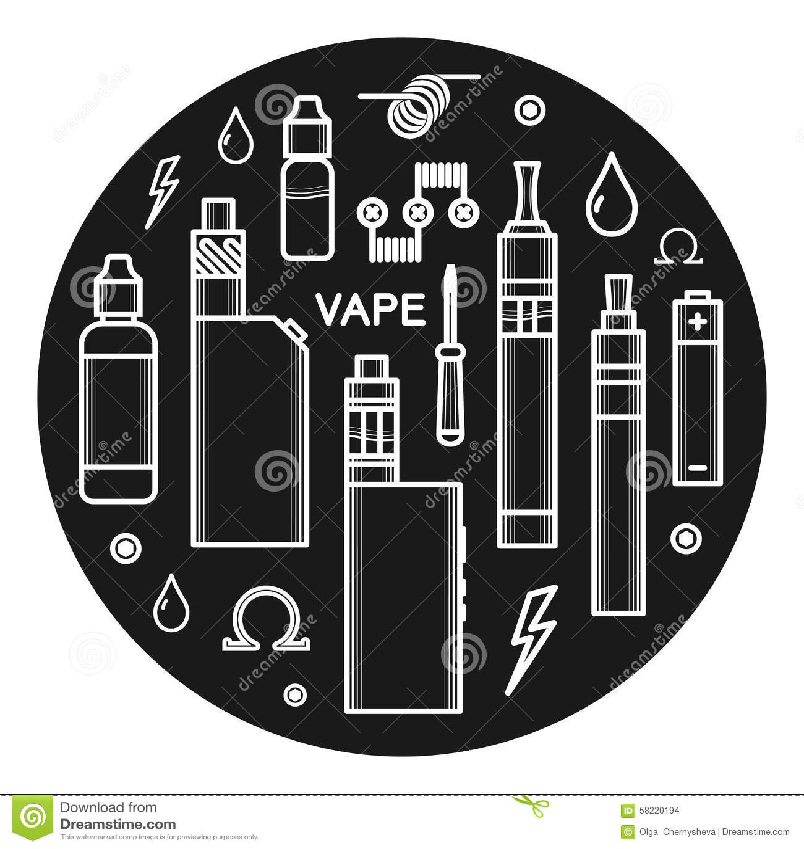Transparent Cigarette Smoke Stock Images RoyaltyFree