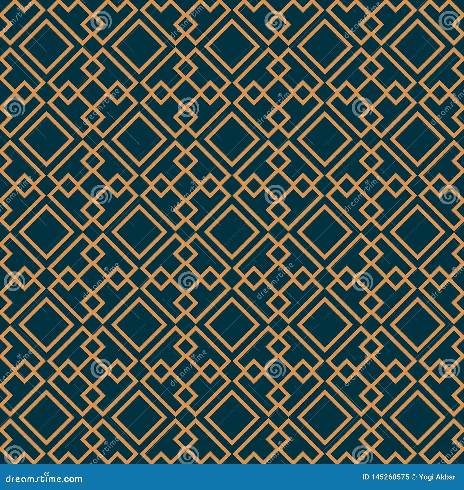 Vector il reticolo senza giunte struttura alla moda moderna Ornamento a strisce geometrico modello lineare di lusso