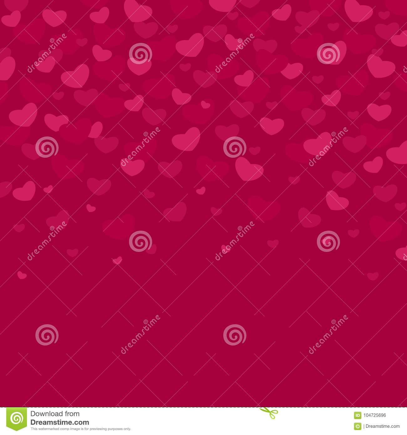 Vector Illustrated Valentines Day Patterns. Cute Tile Wedding ...