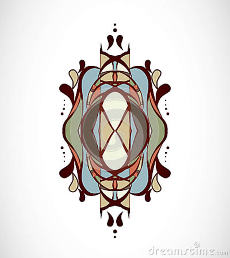 Vector illustration with abstraction.